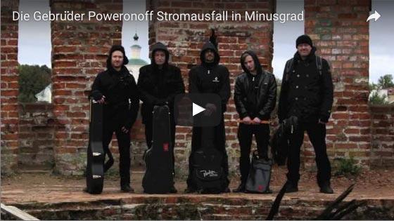 Die Gebrüder Poweronoff – Stromausfall in Minusgrad